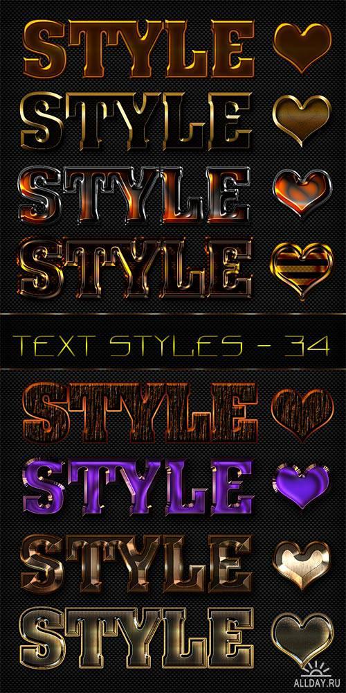 Text styles - 34