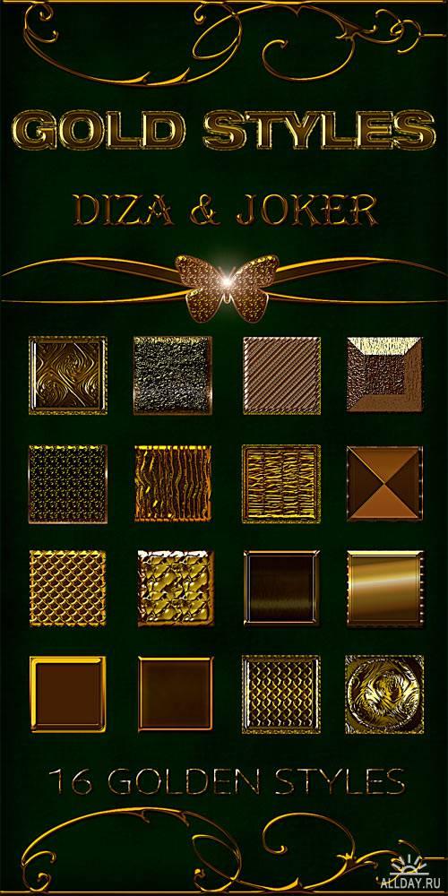 Gold styles - 7