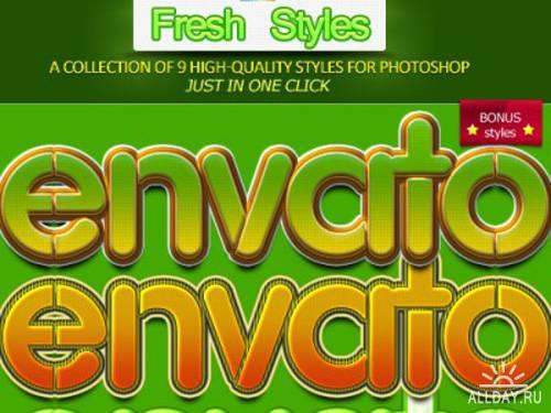 Green fresh styles by envato