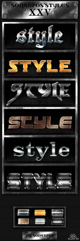 Sonarpos styles 25