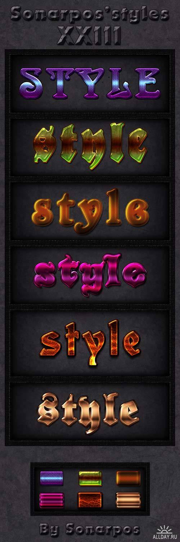 Sonarpos styles 23