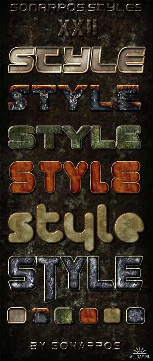Sonarpos styles 22