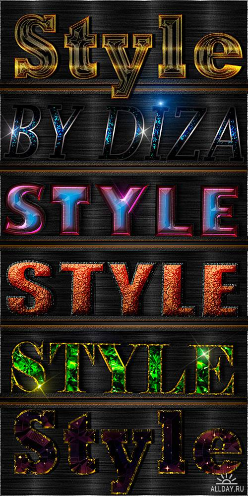 Text styles by Diza - 7