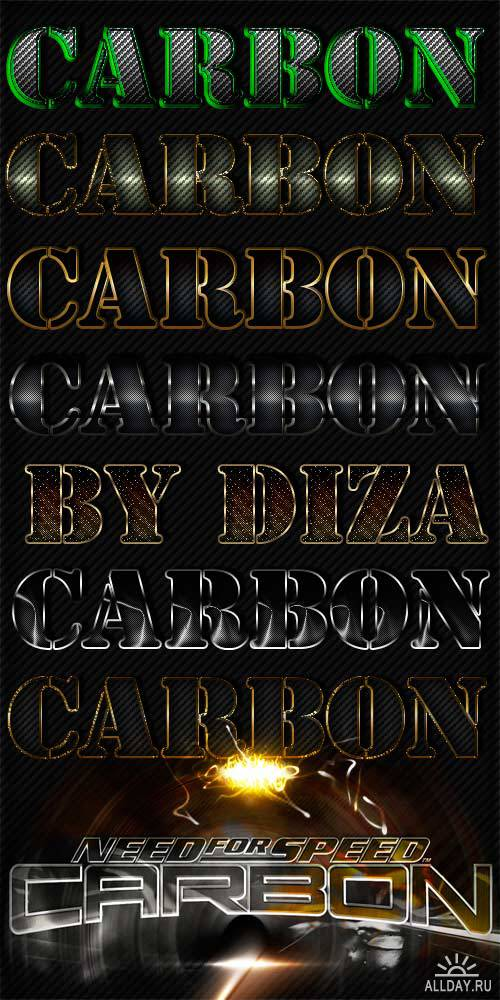 Carbon styles by Diza-2