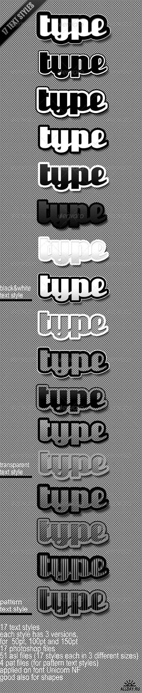 GraphicRiver - Text Styles RETAIL