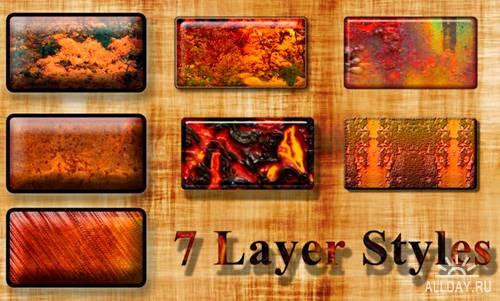 Rusty Layer Styles
