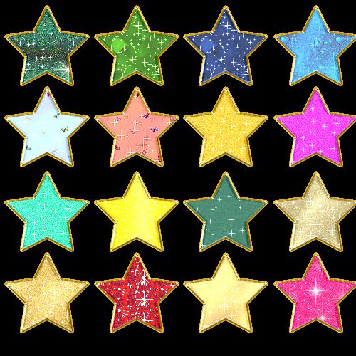 Звездные стили для photoshop