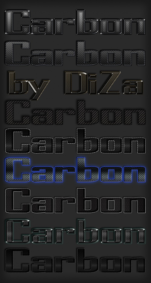 Carbon styles