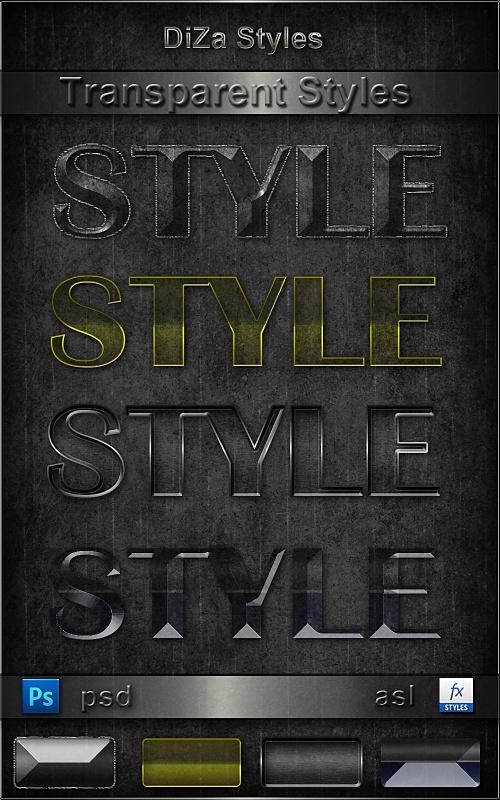 Transparent styles   Прозрачные стили