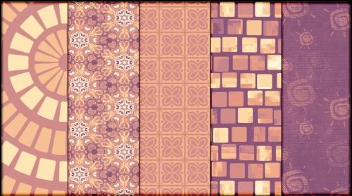 100 Бесшовных текстур (Patterns) для фотошопа