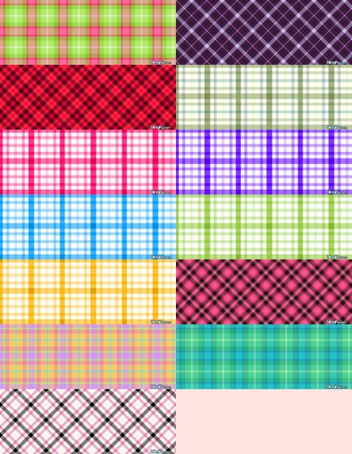Photoshop Plaid Patterns Pack