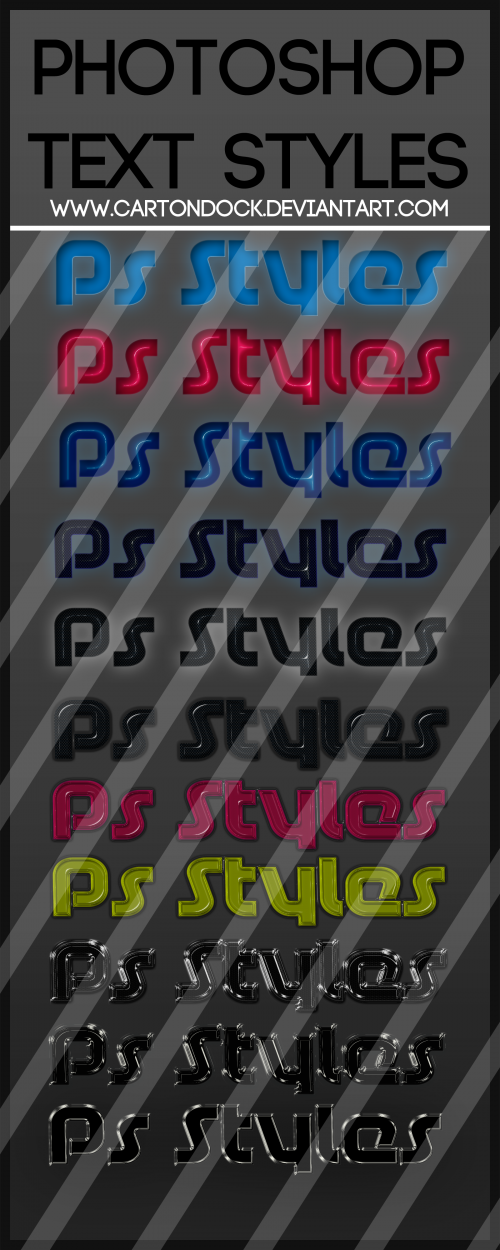 25 Text Style Bundle