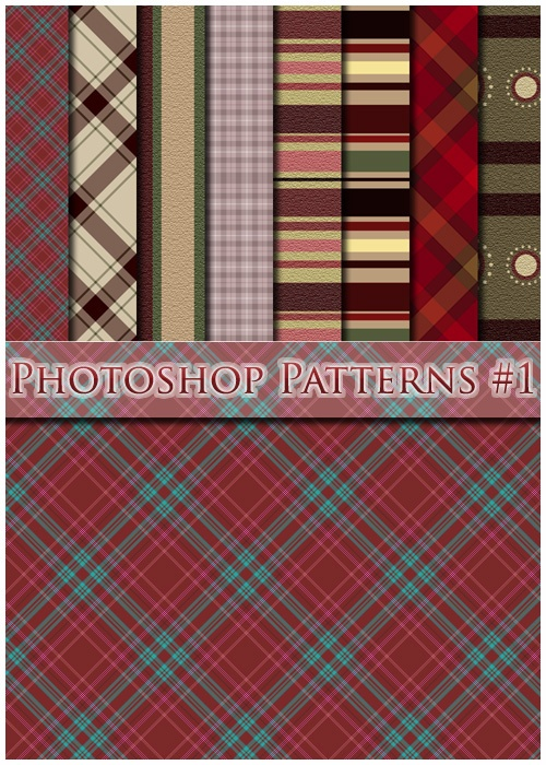 300 Бесшовных текстур (Patterns) для фотошопа