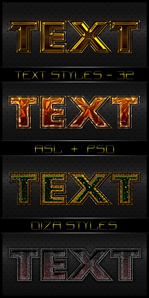 Text styles by DiZa - 32