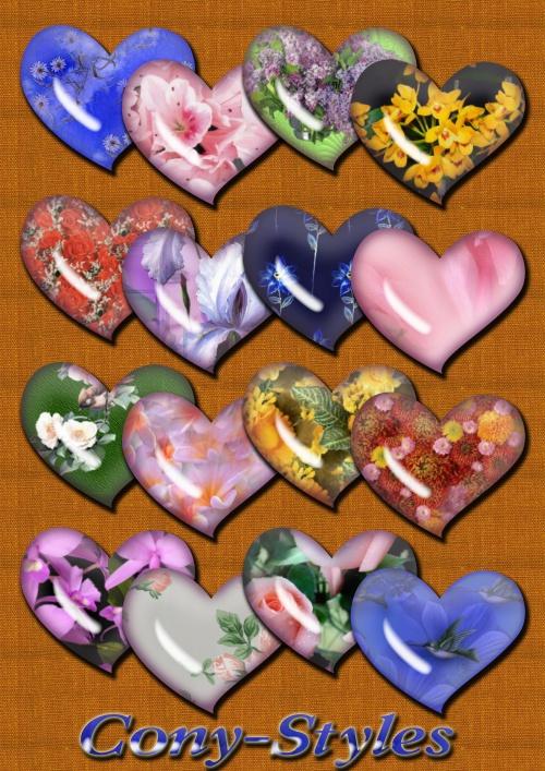 105 styles flowers