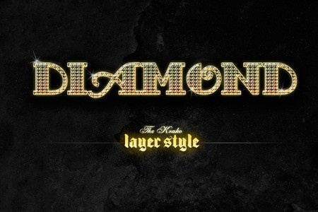 Diamond & Gold metal styles