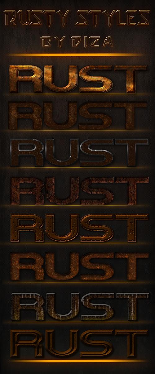 Rusty styles