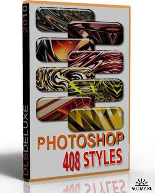 408 beautiful styles for Photoshop (2010)
