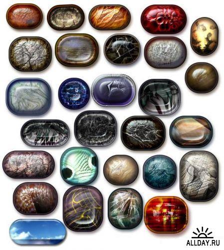 Каменные украшения