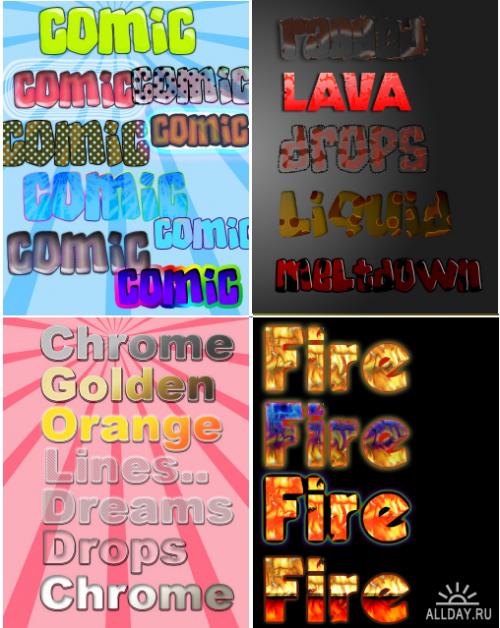 5 Photoshop Styles