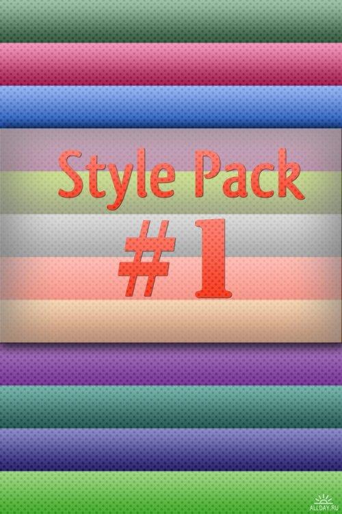 Стили для Photoshop - Style Pack #1